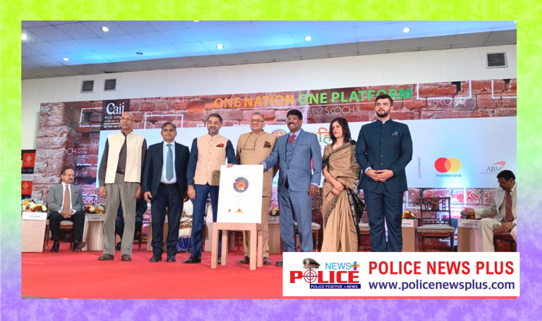 Selfless dedication and tireless officer  DGP Pradeep v Phillip, IPS won SKOCH Awards (Gold)