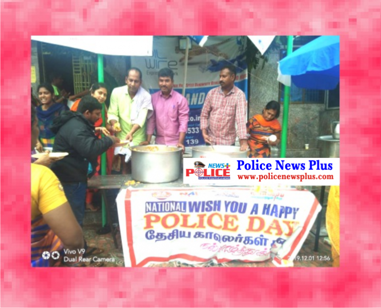 To raise public awareness of Police Day on December 24  free food distribution programme, 2000 people participated