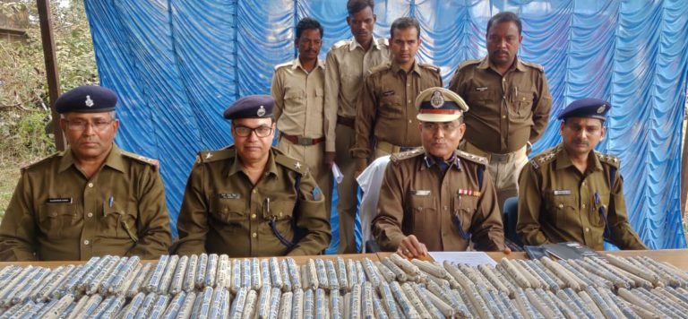 Jharkhand Police arrested accused involved in smuggling and seized smuggled products