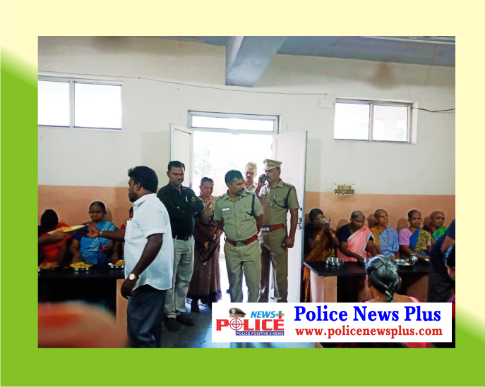 Police DC Mr. Eswaran presides as Special Guest for Food distribution for Visually Handicapped Persons on the occasion of Police Day