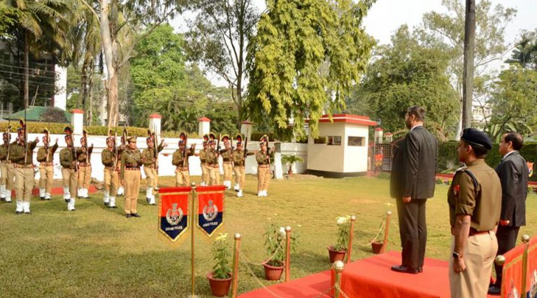 Mr.  Arvind Kumar, IPS interacts with Police personal