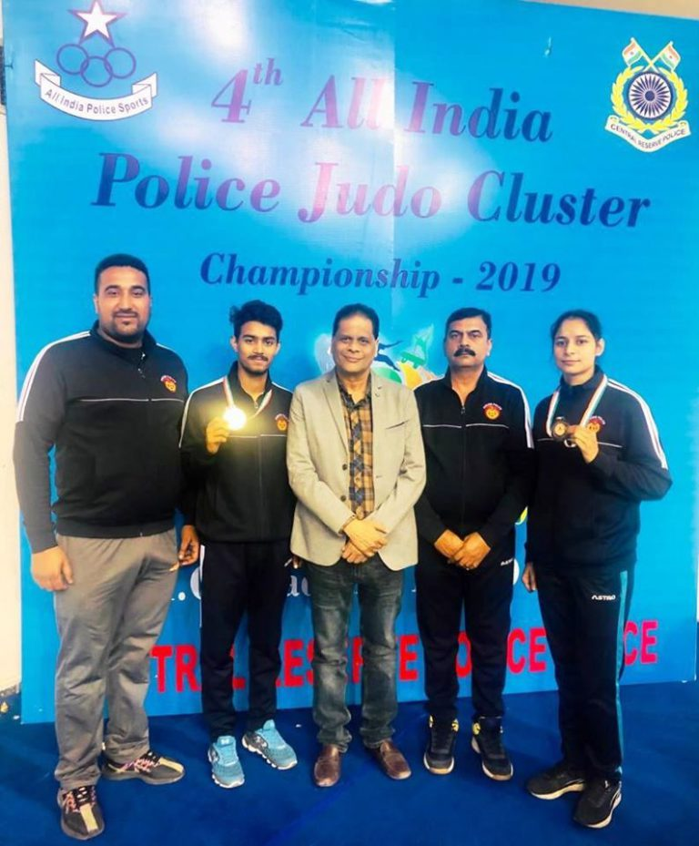 Punjab Police take Bronze medal in All India Judo Cluster Championship
