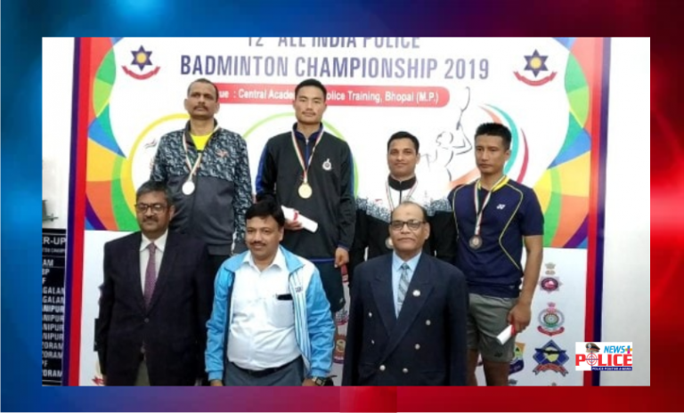 Arunachal Pradesh Police secures title in All India Police Badminton Championship