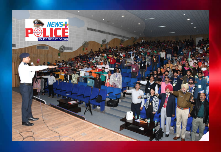 Chandigarh Traffic Police conducted Road Safety Awareness Program at College campus