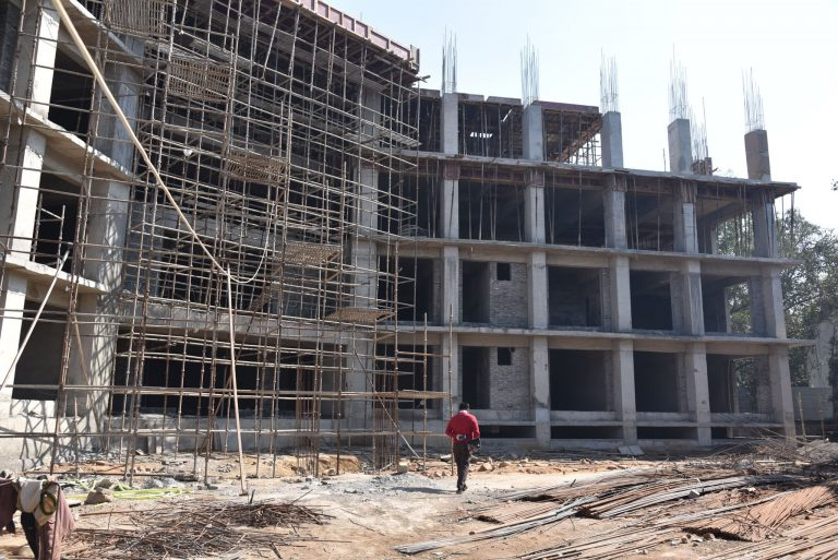 New Building being constructed for Special Police Unit for North East Region and Women and Children