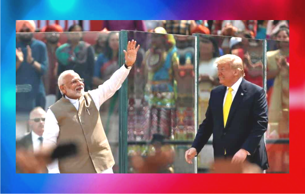 Gujarat Police arranges elaborate security arrangement for the US President and his family