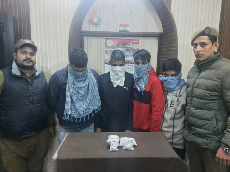 One arrested, Charas recovered by Pacca Danga Police.