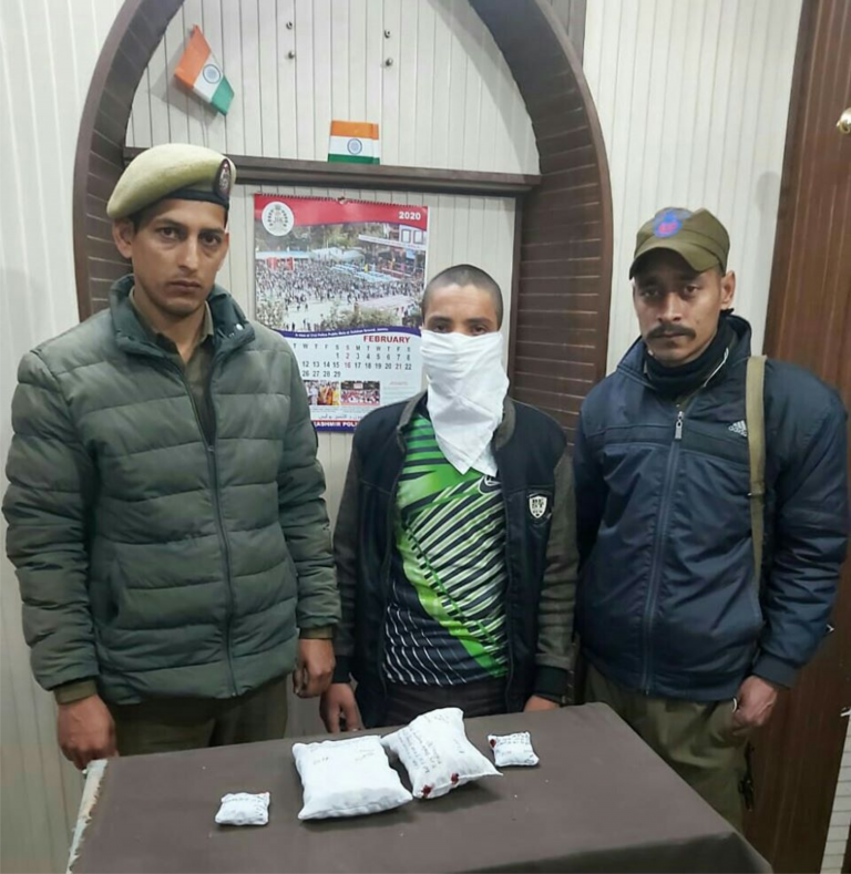 One arrested, Charas recovered by Pacca Danga Police