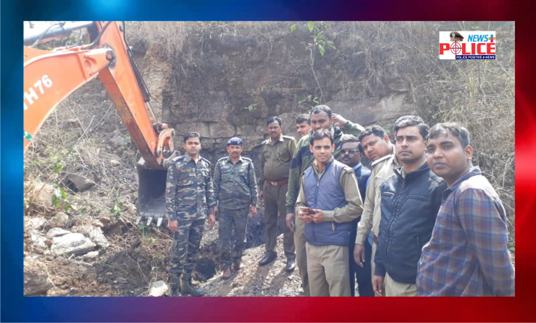 Jharkhand Police has taken efforts to prevent the illegal mining of Coal