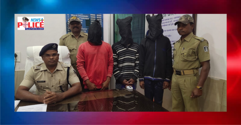 Jeypore Town Police foil ATM loot- Arrested Accused