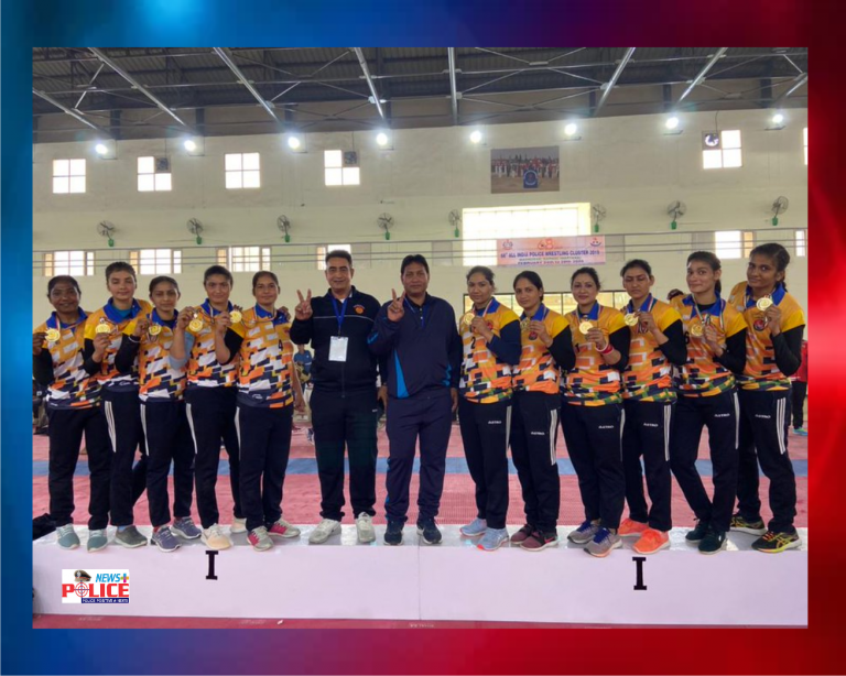 Punjab Police wins Gold Medal in All India Police Wrestling Cluster