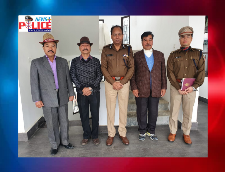 Arunachal Pradesh DGP interacted with retired police officers