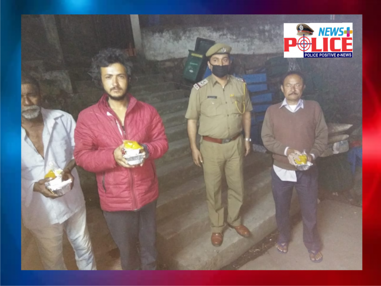 Meghalaya Police distributed food packets to the needy people