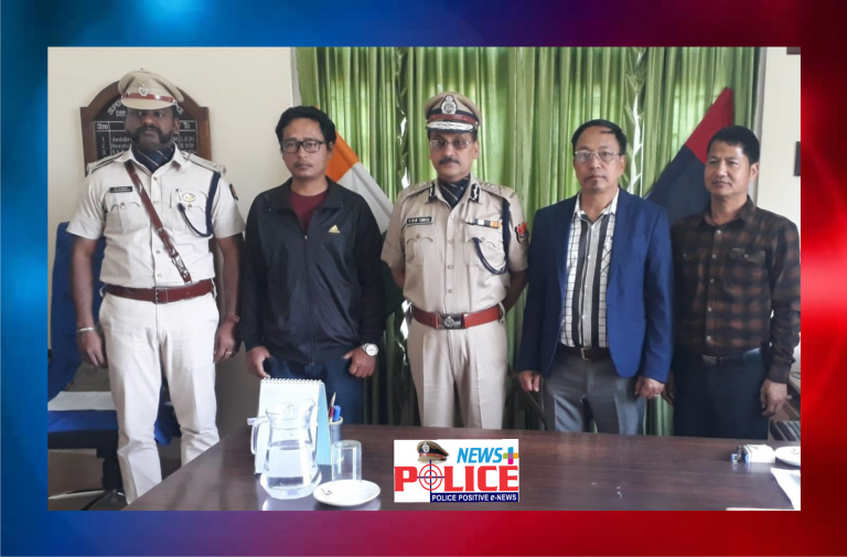 Mizoram DGP visited Serchhip SP office and inaugurated CCTV at Serchhip Police Station