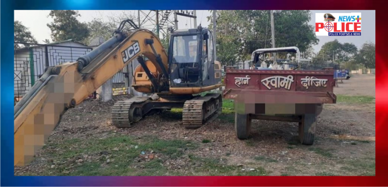 Jagadalpur Police conducts drive against illegal sand mining