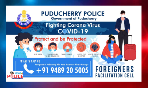Puducherry Police have taken steps to assist foreign tourists