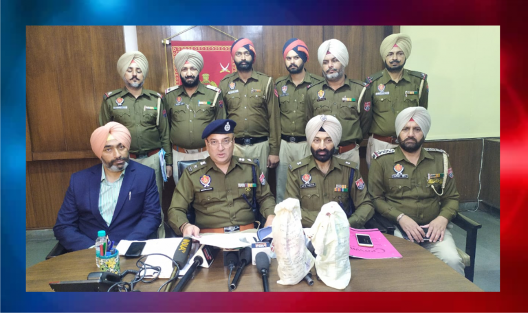 Punjab Police and BSF recovered Heroin near Indo-Pakistan border