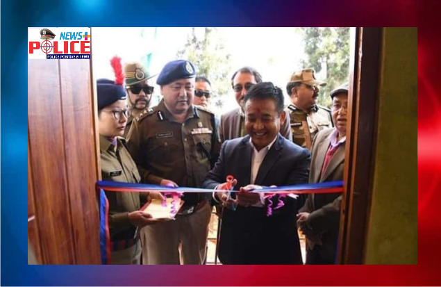 The Chief Minister of Sikkim inaugurated new Police office