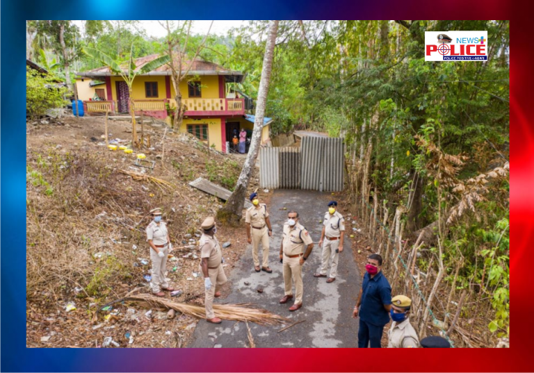IG, Law and Order, SP South Andaman and other officers visit Bambooflat COVID-19 Hotspot