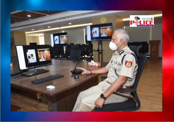 Delhi Police Commissioner enquires about the well being of ASI Mr. Jeet Singh