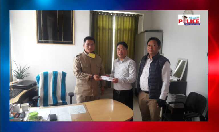 Kohima Ao Baptist Church donated towards COVID-19