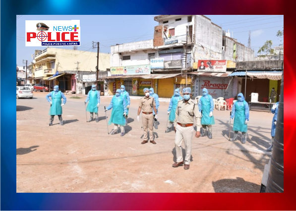 Korba Police have turned into COVID-19 fighters in the district