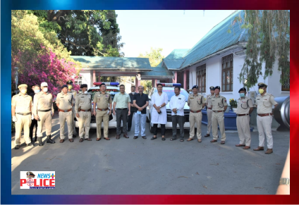 Manipur Chief Minister to provide a total of 15 Innova Vehicles to the Manipur Police force
