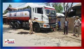 Churachandpur Police arrested 2 persons selling Petrol from Oil Tanker