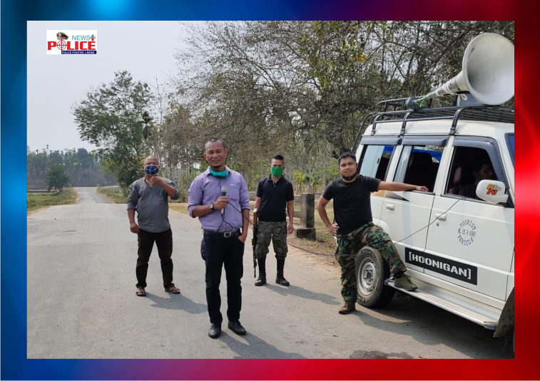 Meghalaya Police gives awareness regarding COVID-19