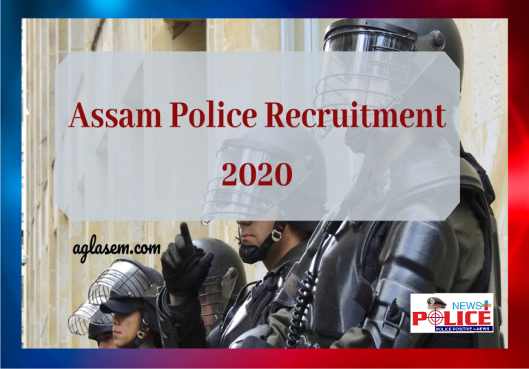 Assam Police Recruitment for the post of Platoon Commander