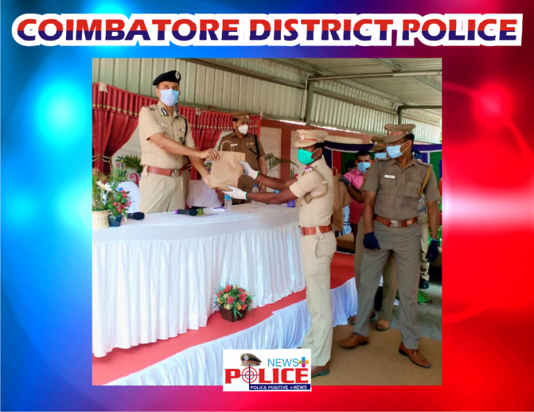 Coimbatore Police Commissioner provided essential requirements and instructed the personal to create awareness