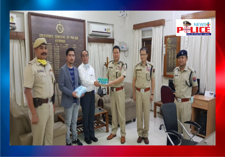 The DGP of Manipur thanked Nestle and Dr. Chito Singh for their support to the Police