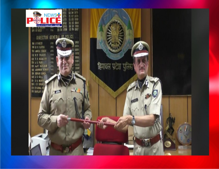 Mr. Sanjay Kundu IPS takes over as DGP of Himachal Pradesh