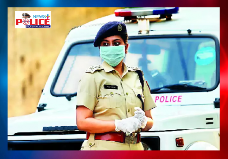 Sacrifice of a lady police officer who is a mother