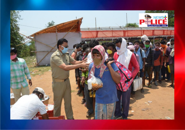 Rayagada police help migrants travel to their hometowns