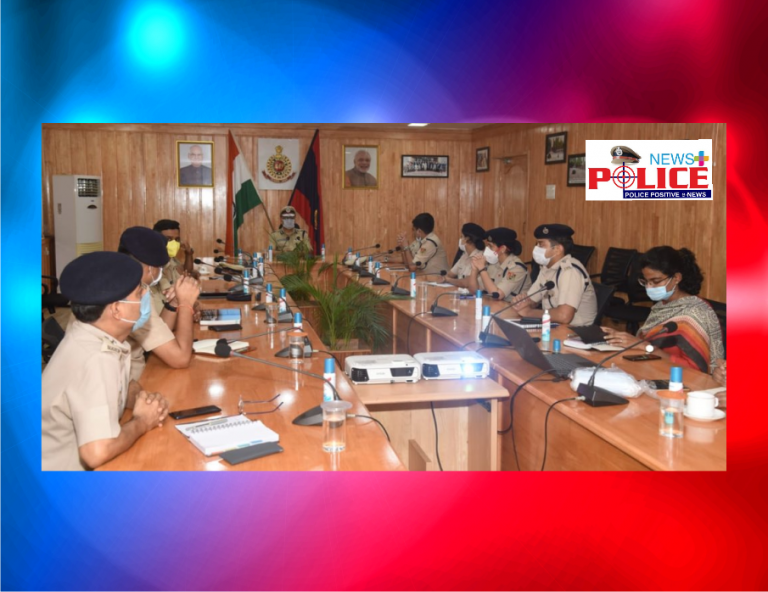 Andaman and Nicobar Island DGP conducts discussion with all senior police officials