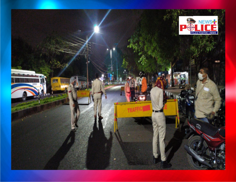 Bhopal Traffic Police is taking precautionary measures