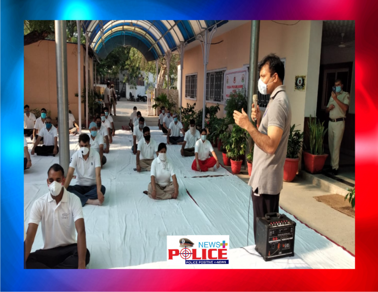 Delhi Railway Police started Yoga and Meditation programme