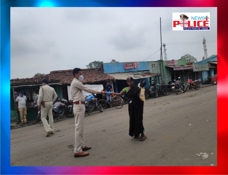 Deoghar Police are checking on crime and spreading awareness on COVID-19