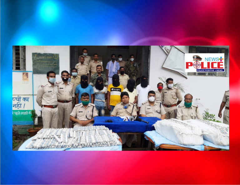 Dumka Police arrested persons in possession of illegal ammunition during vehicle check