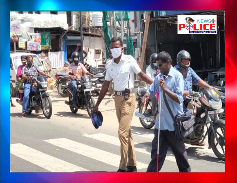 The traffic chief guard who acted as a third eye for the visually impaired.