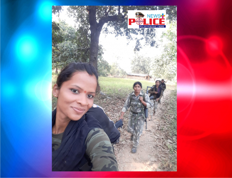 The courage and determination of an Indian Police Female officer