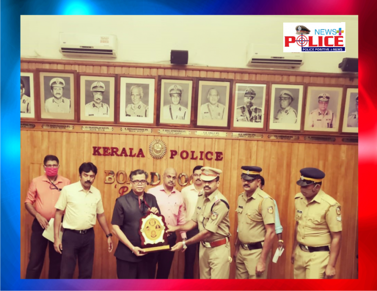 Palakkad District Police awarded for their best performance in the country