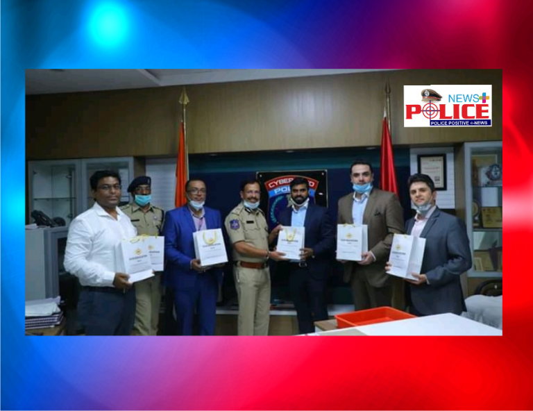 GUS Education India donated 5600 packets of immunity booster Dates to Cyberabad Police
