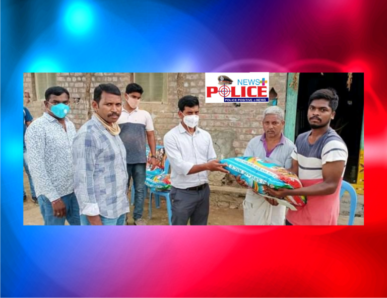 Mullu district police supported martyred Paramilitary force Commander Mr. Abhilash's family