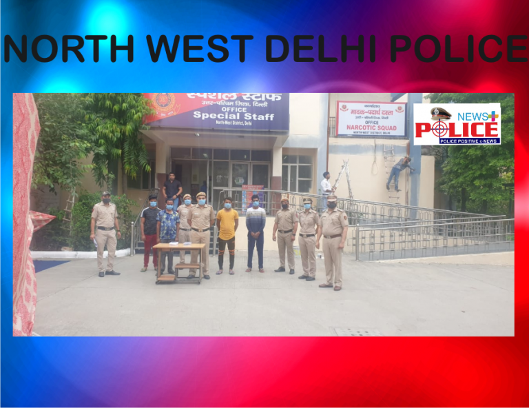 North West Delhi Police arrested persons involved in duping people financially
