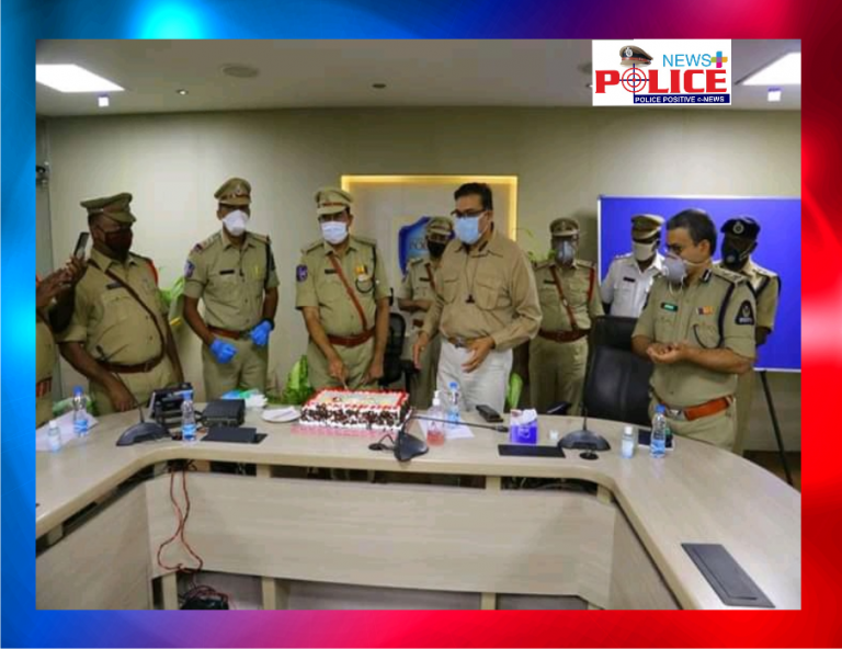 Felicitation done to 43 retiring Police Officers in Hyderabad City Police Commissionerate