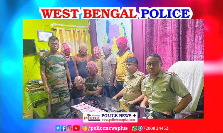 Police of Hasimara outpost arrested 6 people with fake notes of 2 lakh