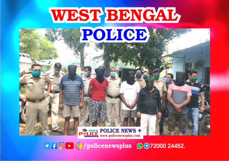 5 Arrested for Smuggling the Cannabis at Durgapur
