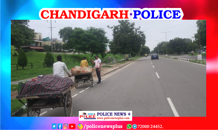 Chandigarh Traffic Police conducts awareness drive for the safety of the cyclists
